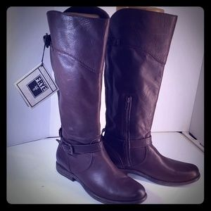 Frye Brown Phillip Riding Boots Size 9.